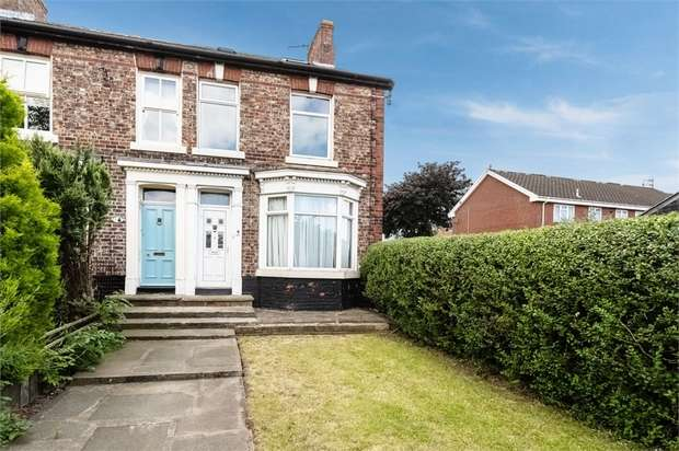 3 Bedrooms Semi Detached House for sale in Station Road, Billingham, Durham