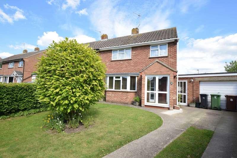 3 Bedrooms Semi Detached House for sale in Saunders Close, Watlington