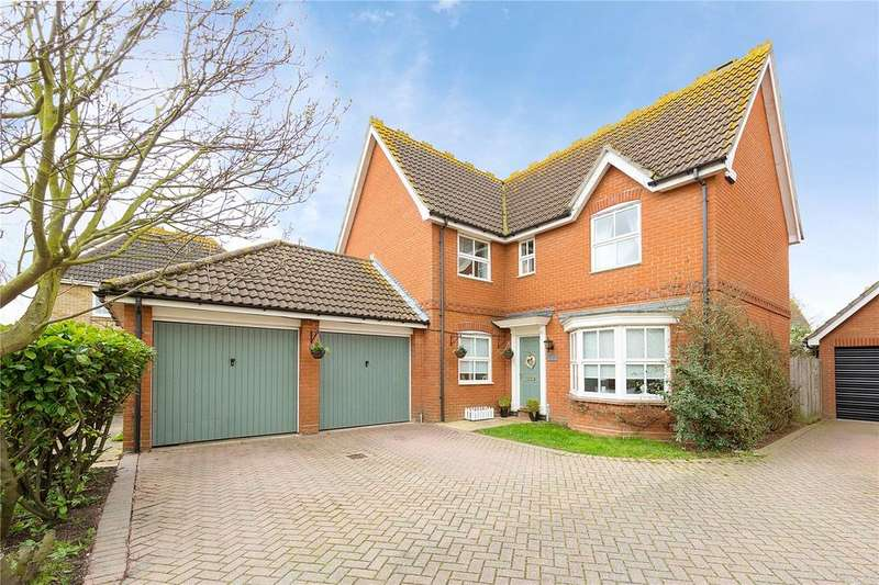 4 Bedrooms Detached House for sale in Hornbeam Chase, South Ockendon, Essex, RM15