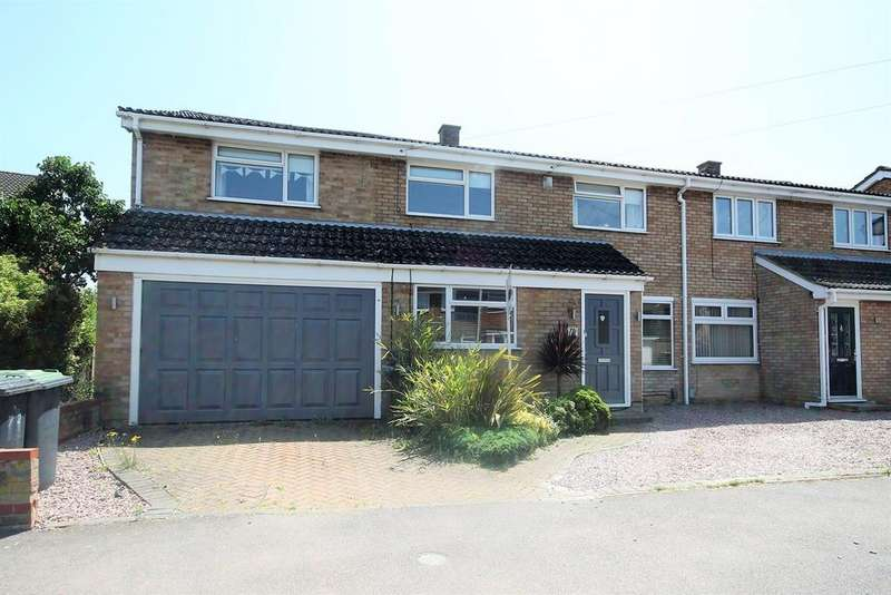 5 Bedrooms Semi Detached House for sale in Newis Crescent, Clifton, SG17