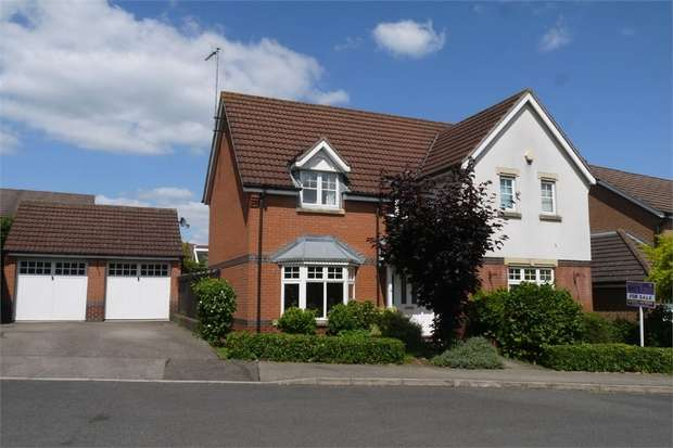 4 Bedrooms Detached House for sale in Kestian Close, Market Harborough, Leicestershire