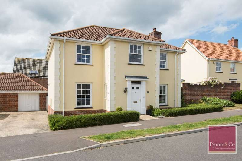 4 Bedrooms Detached House for sale in Vanguard Chase, New Costessey, Norwich