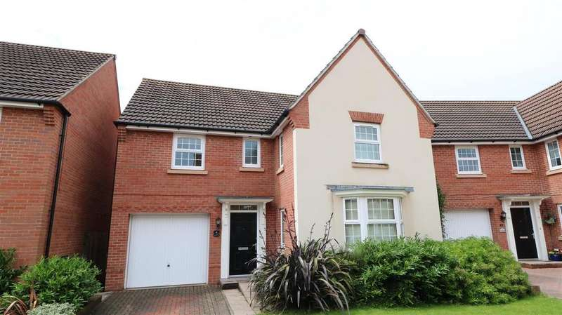 4 Bedrooms Detached House for sale in The Ryelands, Newent