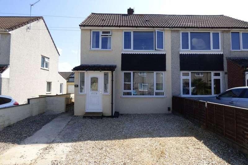 3 Bedrooms Semi Detached House for sale in Bradley Avenue, Winterbourne