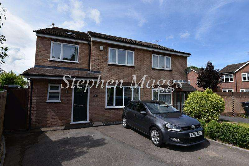 4 Bedrooms Semi Detached House for sale in Hungerford Road, Brislington, Bristol, BS4