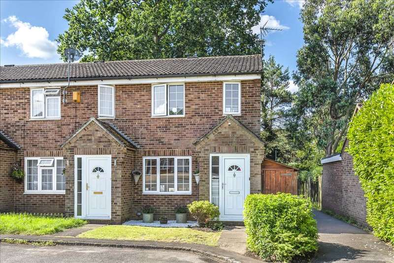 3 Bedrooms End Of Terrace House for sale in Mulberry Close, Owlsmoor, Sandhurst