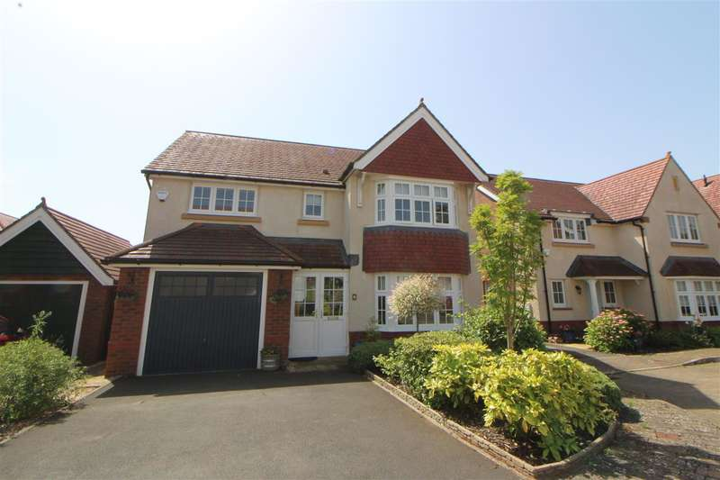 4 Bedrooms Detached House for sale in Heol Trothy, Caldicot