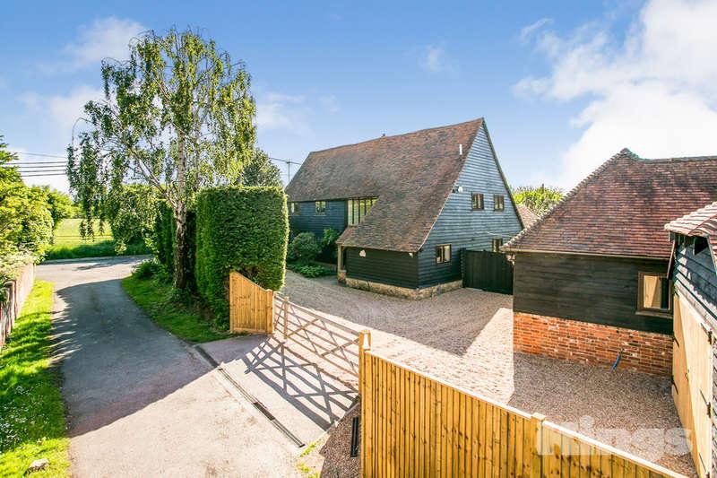 5 Bedrooms Detached House for sale in Church Lane, East Peckham, Tonbridge