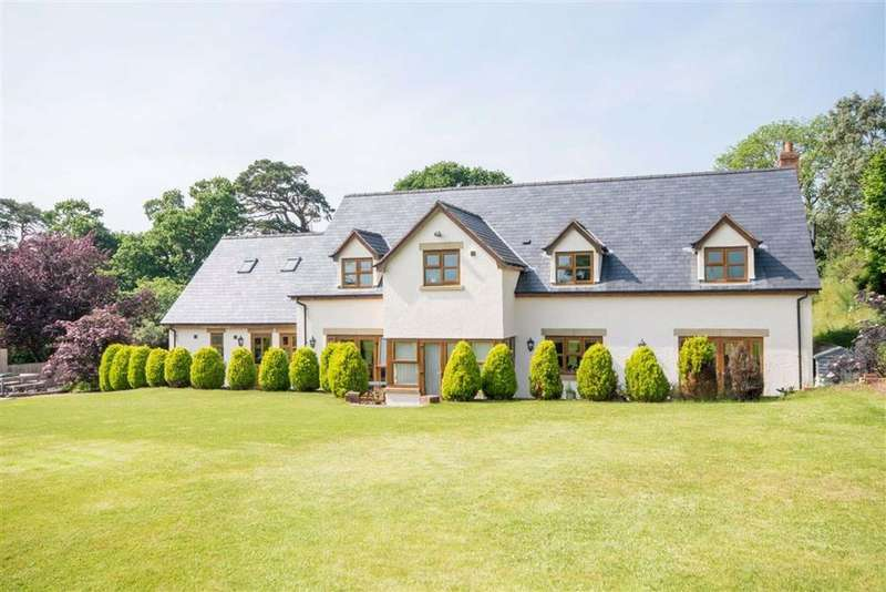 5 Bedrooms Detached House for sale in Hirwaen, Hirwaen, Ruthin