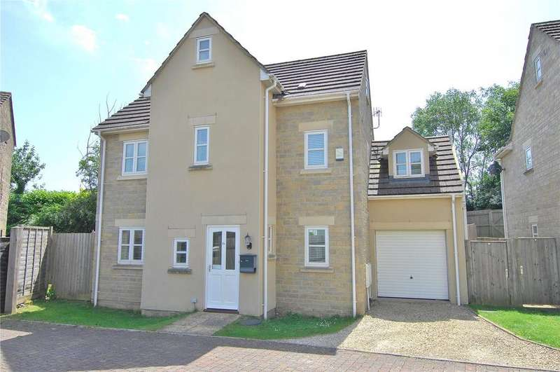 4 Bedrooms Detached House for sale in Cherry Tree Close, Nailsworth, Stroud, Gloucestershire, GL6