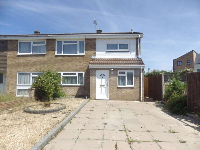 4 Bedrooms Semi Detached House for sale in Gelding Close, Luton, Bedfordshire, LU4