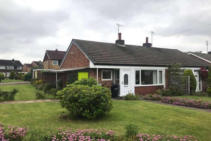 2 Bedrooms Semi Detached Bungalow for sale in Meynell Close, Wistaston, Crewe, CW2