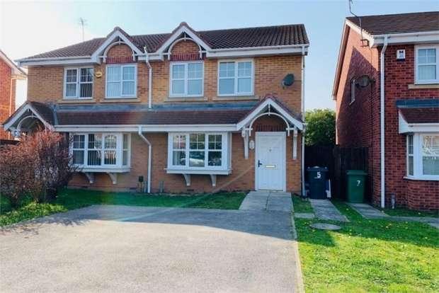 3 Bedrooms Semi Detached House for sale in Tapestry Gardens, Birkenhead, Merseyside