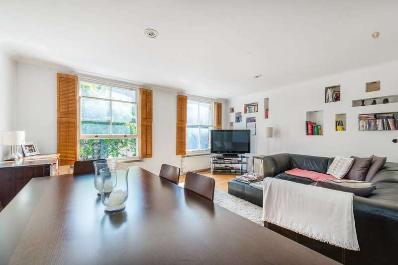 3 Bedrooms Maisonette Flat for sale in Portobello Road, Portobello, W10