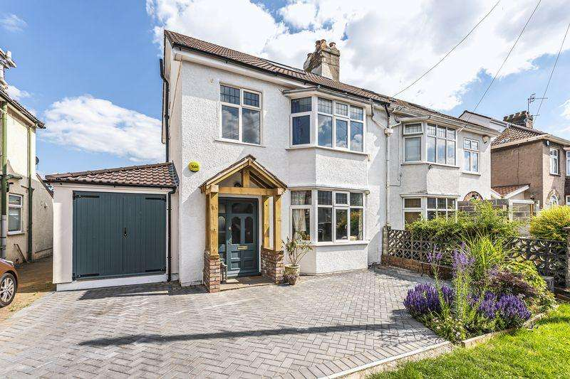 4 Bedrooms Semi Detached House for sale in Abbey Road, Bristol