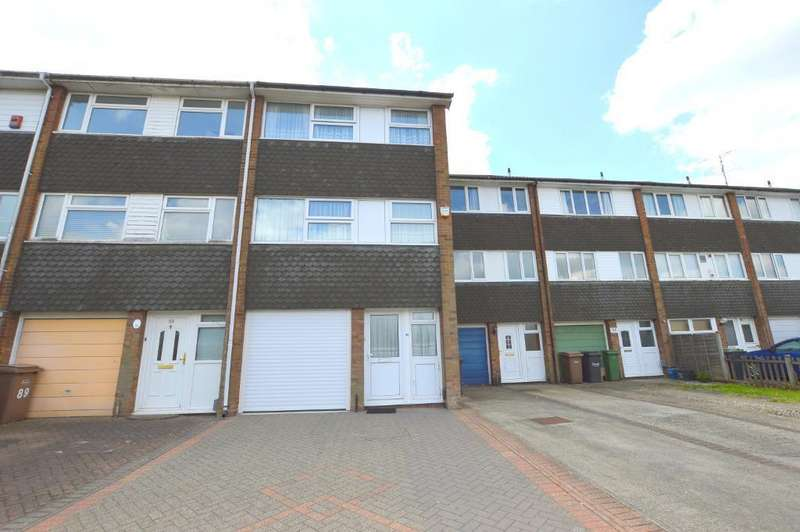 3 Bedrooms Town House for sale in Swasedale Road, Limbury Mead, Luton, Bedfordshire, LU3 2UD