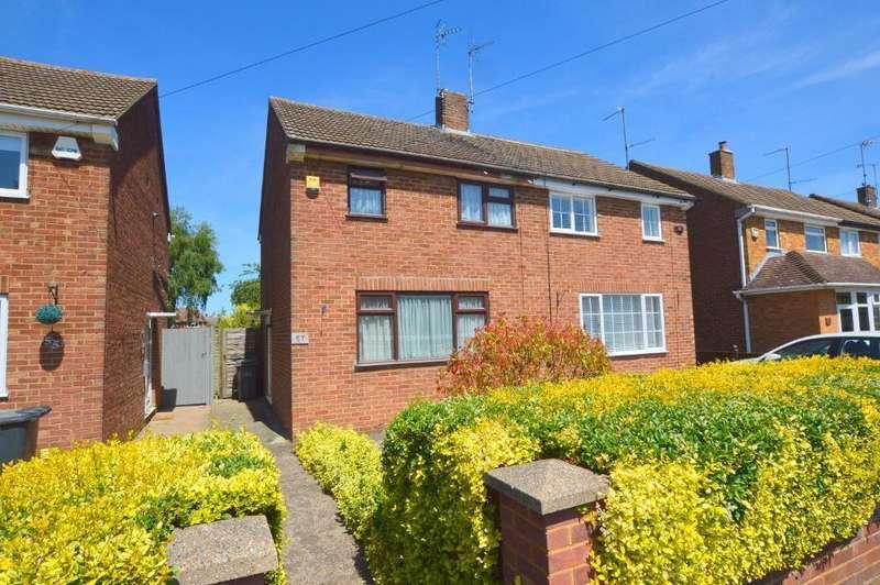 2 Bedrooms Semi Detached House for sale in Peartree Road, Putteridge, Luton, Bedfordshire, LU2 8AZ
