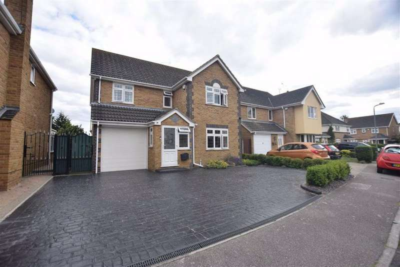 5 Bedrooms Detached House for sale in Rowan Grove, Aveley, Essex