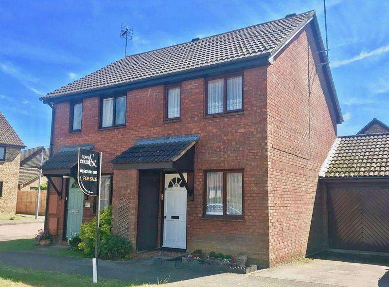 2 Bedrooms Semi Detached House for sale in Holly Farm Close, Caddington