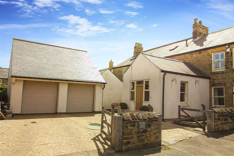 4 Bedrooms Barn Conversion Character Property for sale in Middle Farm House, Seghill, Northumberland