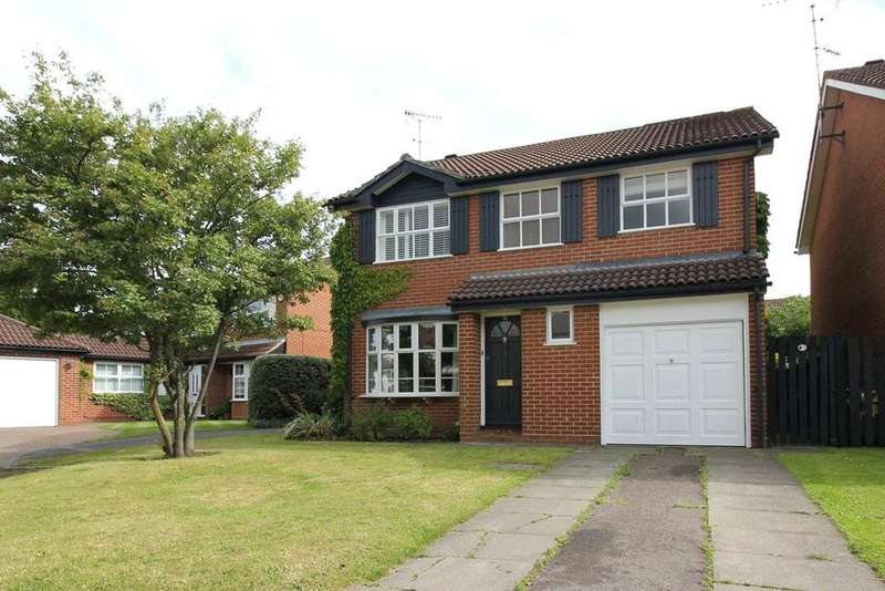 4 Bedrooms Detached House for sale in Blackley Close, Earley, Reading, Berkshire, RG6