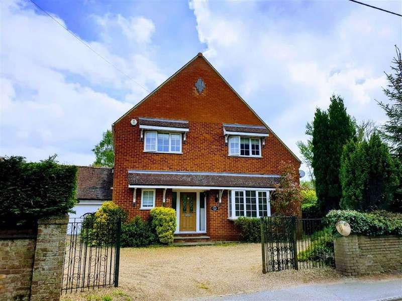 4 Bedrooms Detached House for sale in Leighton Road, Heath And Reach