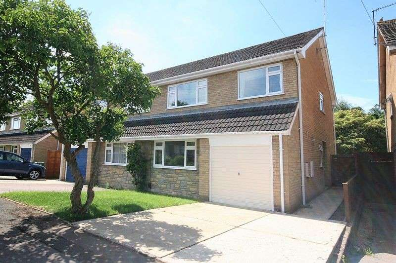 4 Bedrooms Property for sale in Cousley Close, Hucclecote, Gloucester