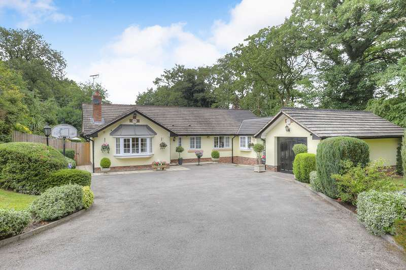 3 Bedrooms Detached Bungalow for sale in Yew Tree Grove, Heald Green, Cheadle, Cheshire, SK8