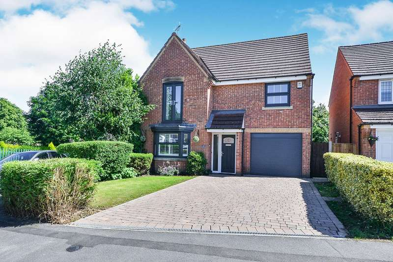 4 Bedrooms Detached House for sale in Trinity Way, Heanor, Derbyshire, DE75