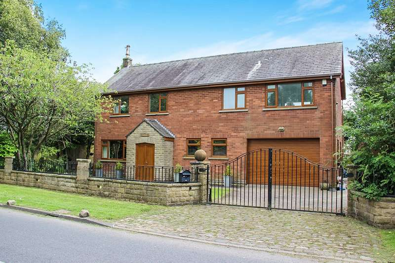 4 Bedrooms Detached House for sale in Green Lane West, Garstang, Preston, PR3