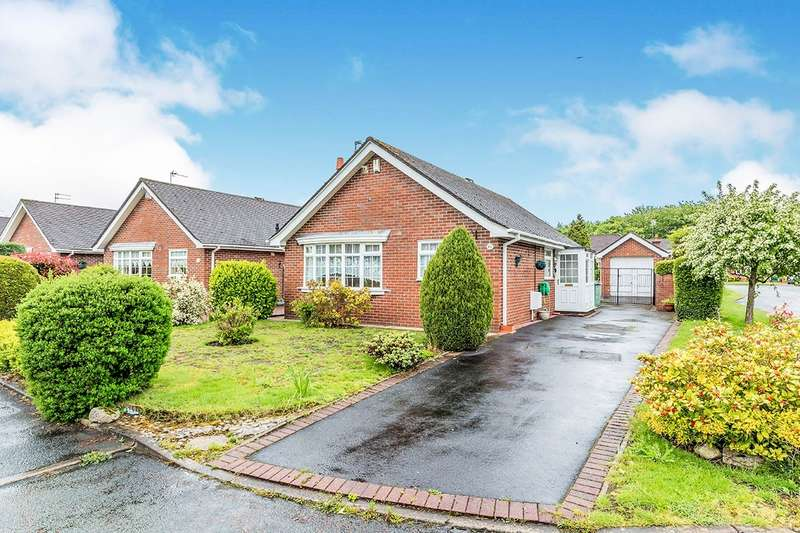 2 Bedrooms Detached Bungalow for sale in Ravenscroft, Holmes Chapel, Crewe, CW4