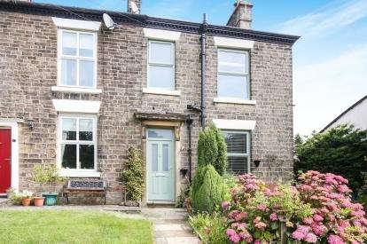3 Bedrooms End Of Terrace House for sale in Jacksons Edge Road, Disley, Stockport, Cheshire