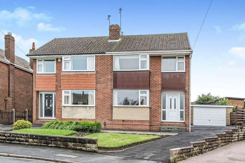 3 Bedrooms Semi Detached House for sale in Town Fold, Ossett, West Yorkshire, WF5
