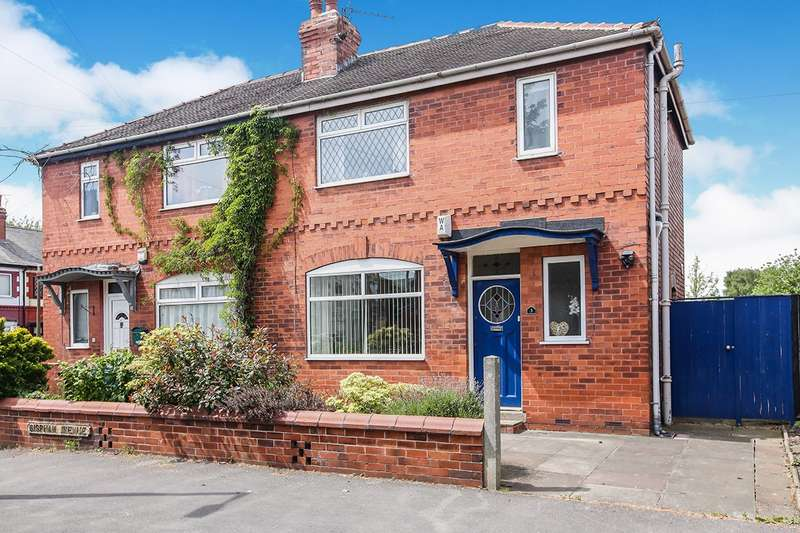 3 Bedrooms Semi Detached House for sale in Bispham Avenue, Reddish, Stockport, Cheshire, SK5