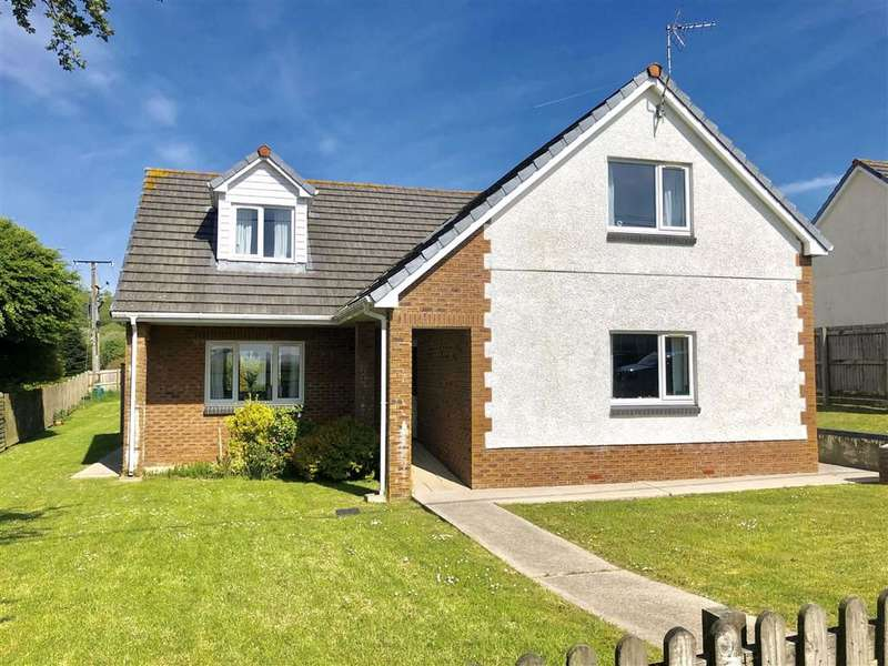 4 Bedrooms Detached House for sale in Bro Hedydd, Four Roads, Kidwelly