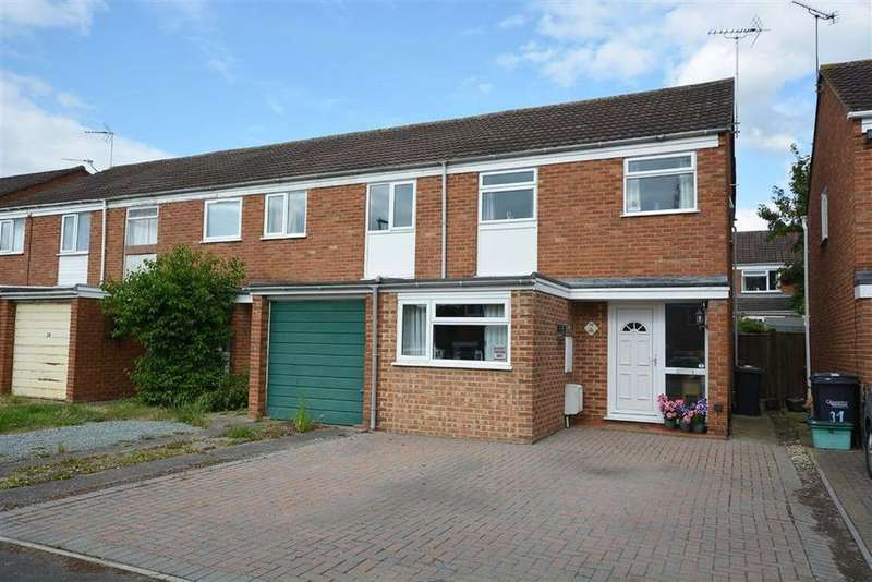 3 Bedrooms End Of Terrace House for sale in Pennine Close, Quedgeley