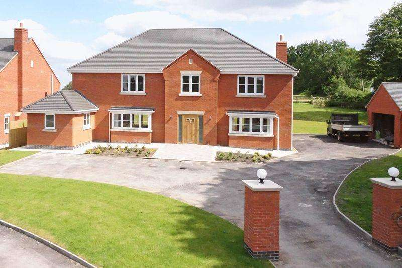 6 Bedrooms Detached House for sale in Pinewood Road, Ashley Heath, Market Drayton, Shropshire