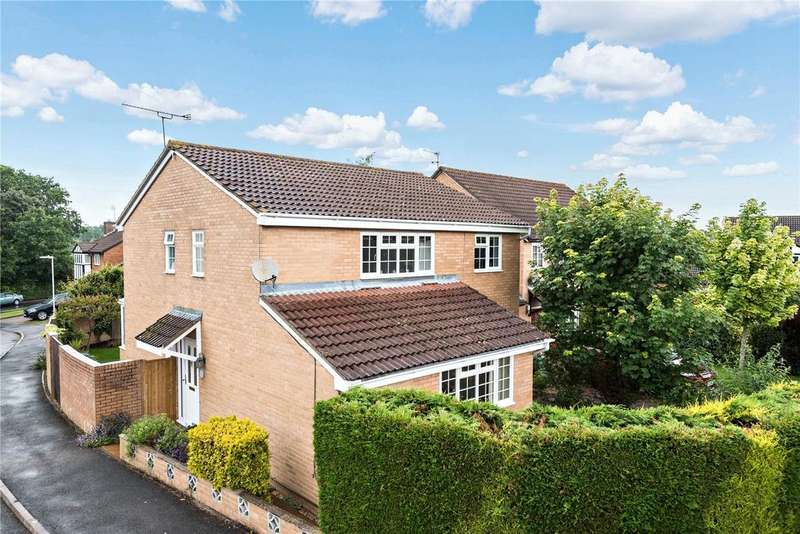 4 Bedrooms Detached House for sale in Wheeler Close, Burghfield Common, Reading, Berks, RG7