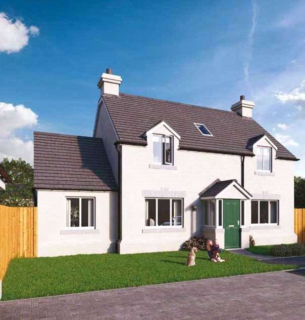 4 Bedrooms Detached House for sale in Plot 8 The Grove, Land South Of Kilvelgy Park, Kilgetty, Pembrokeshire