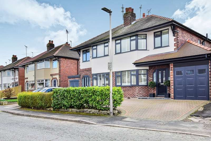 3 Bedrooms Semi Detached House for sale in Arlington Drive, Macclesfield, Cheshire, SK11