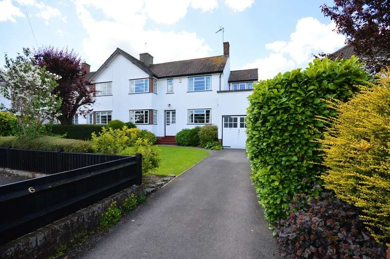 4 Bedrooms Semi Detached House for sale in Uplands Road, Saltford, BS31
