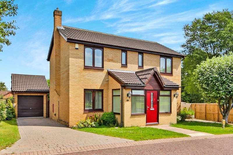 4 Bedrooms Detached House for sale in Dominies Close, Rowlands Gill, NE39