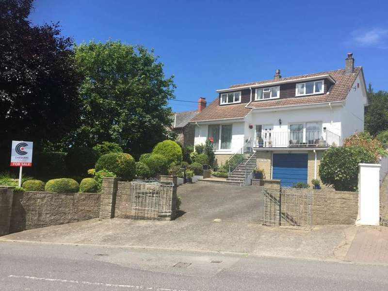 4 Bedrooms Detached House for sale in Goodleigh, Barnstaple
