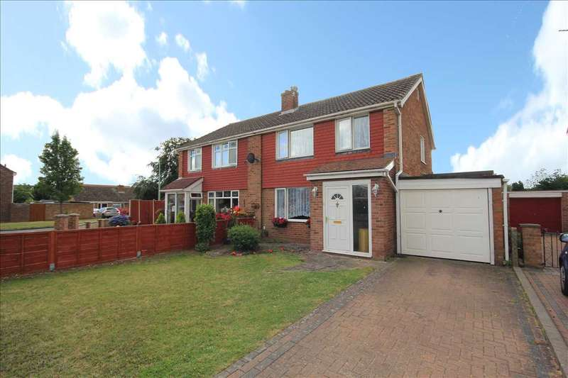 3 Bedrooms Semi Detached House for sale in Rugby Road, Great Cornard