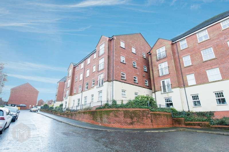 2 Bedrooms Flat for sale in Stonemere Drive, Radcliffe, Manchester, M26