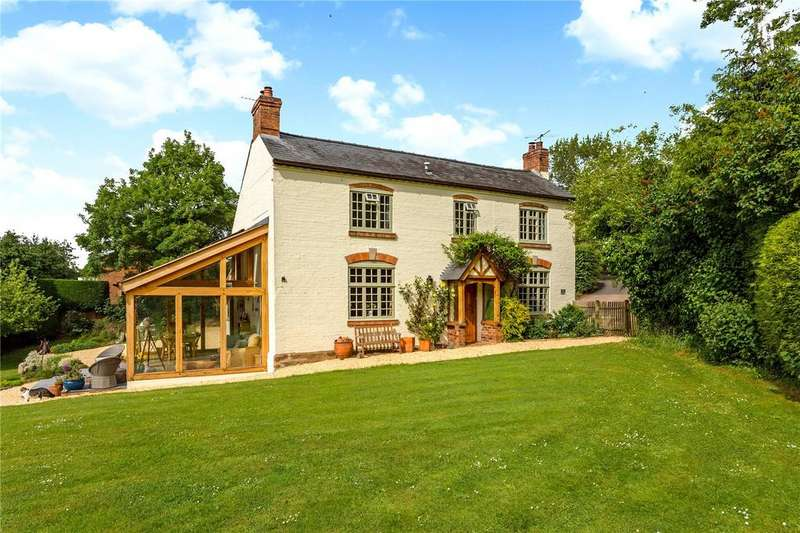 4 Bedrooms Detached House for sale in The Green, Redmarley D'Abitot, Gloucester, Gloucestershire, GL19