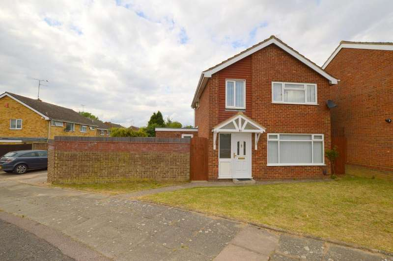 3 Bedrooms Detached House for sale in Turnpike Drive, Warden Hills, Luton, Bedfordshire, LU3 3RA