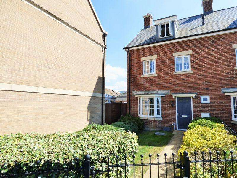 4 Bedrooms End Of Terrace House for sale in Chestnut Road, Coopers Edge, Gloucester