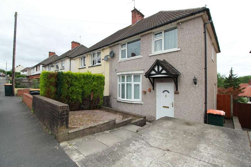 3 Bedrooms Semi Detached House for sale in Gaer Park Lane, Newport, NP20