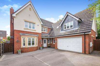 5 Bedrooms Detached House for sale in Wainwright Avenue, Hamilton, Leicester